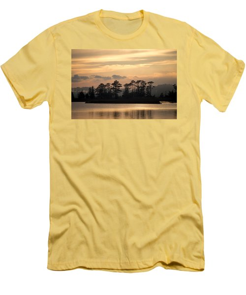 Misty Island Of Assawoman Bay Men's T-Shirt (Athletic Fit)