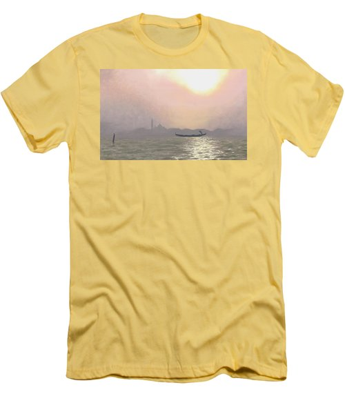 Misty Lagoona 34 X 47 Men's T-Shirt (Athletic Fit)