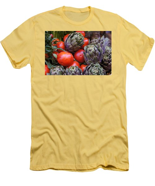 Articholes And Tomatoes Men's T-Shirt (Athletic Fit)
