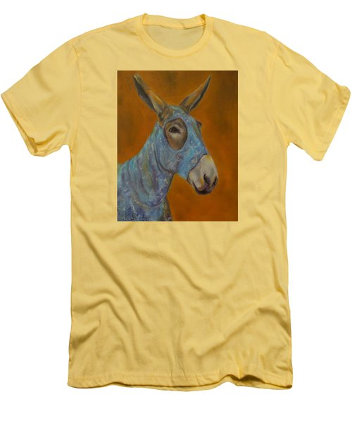 Mo Vision,donkey Men's T-Shirt (Athletic Fit)