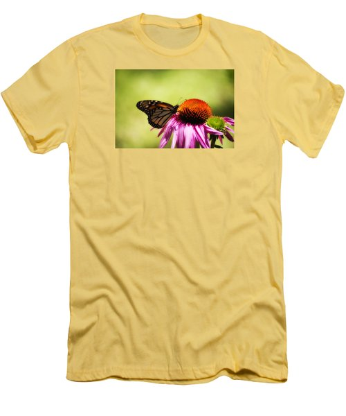 Monarch Glow Men's T-Shirt (Slim Fit) by Shelly Gunderson