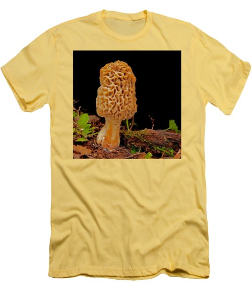Morel Mushroom Men's T-Shirt (Athletic Fit)