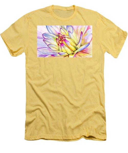 Morning Flower Men's T-Shirt (Athletic Fit)