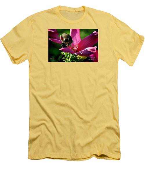 Men's T-Shirt (Slim Fit) featuring the photograph In The Morning by Nava Thompson