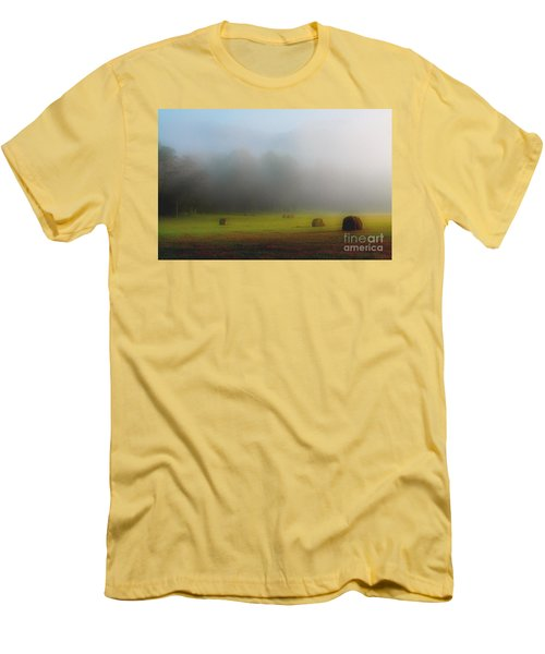 Morning In The Cove Men's T-Shirt (Slim Fit) by Douglas Stucky