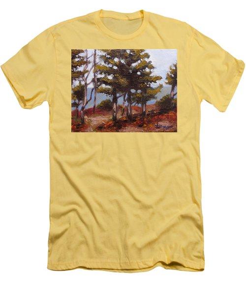 Mountain Top Pines Men's T-Shirt (Slim Fit) by Jason Williamson