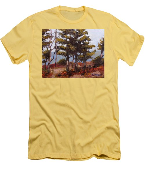 Mountain Top Pines Men's T-Shirt (Athletic Fit)