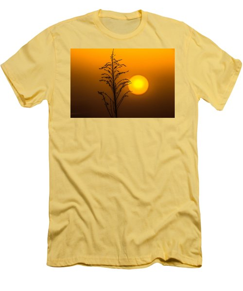 Mystical Sunset Men's T-Shirt (Slim Fit) by Shelby  Young