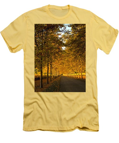 Napa Valley Fall Men's T-Shirt (Slim Fit) by Bill Gallagher