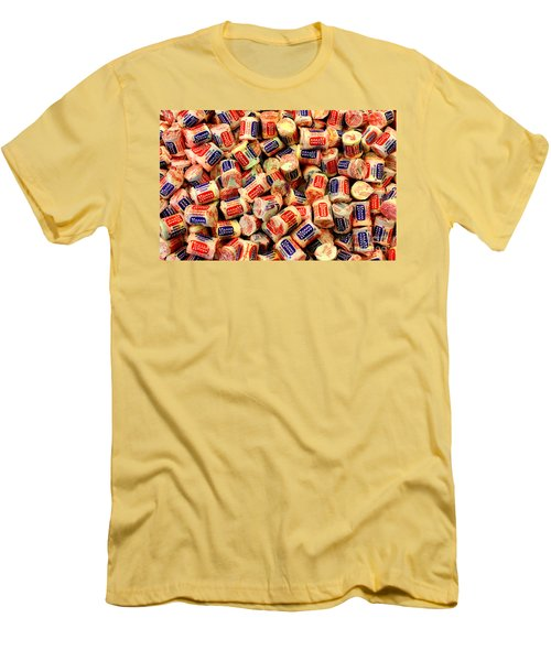 Necco Wafers Men's T-Shirt (Athletic Fit)