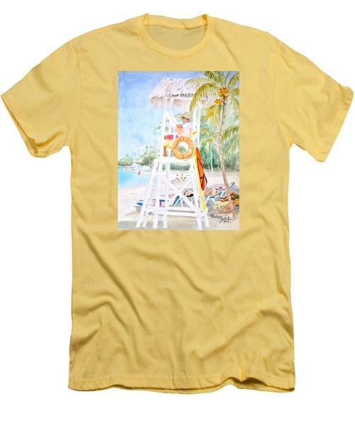 No Problem In Jamaica Mon Men's T-Shirt (Athletic Fit)