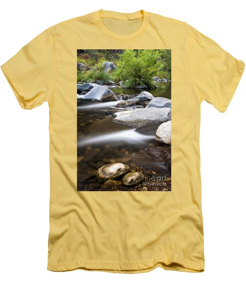 Oak Creek Flowing Men's T-Shirt (Athletic Fit)