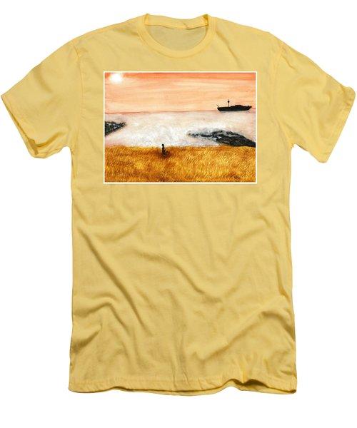Ocean Mist 3 Men's T-Shirt (Athletic Fit)