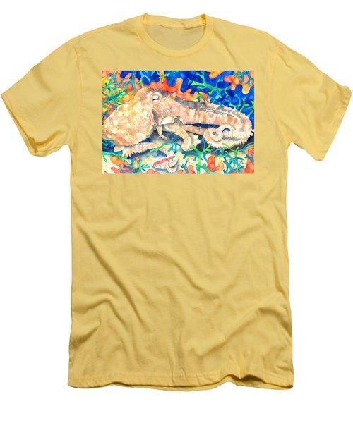 Octopus Delight Men's T-Shirt (Athletic Fit)