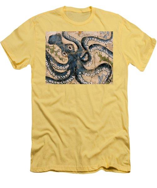 Octopus - Study No. 1 Men's T-Shirt (Athletic Fit)