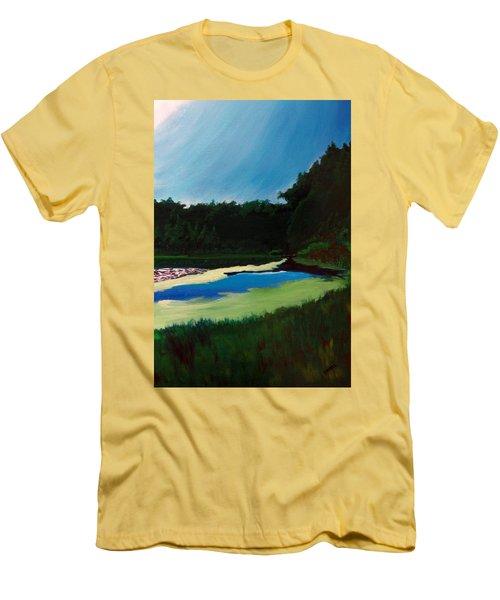 Oglebay Park - Palmer Course Men's T-Shirt (Athletic Fit)