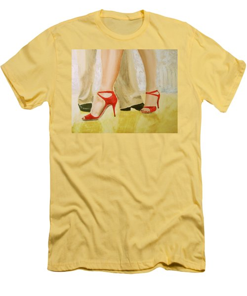 Oh Those Red Shoes Men's T-Shirt (Athletic Fit)