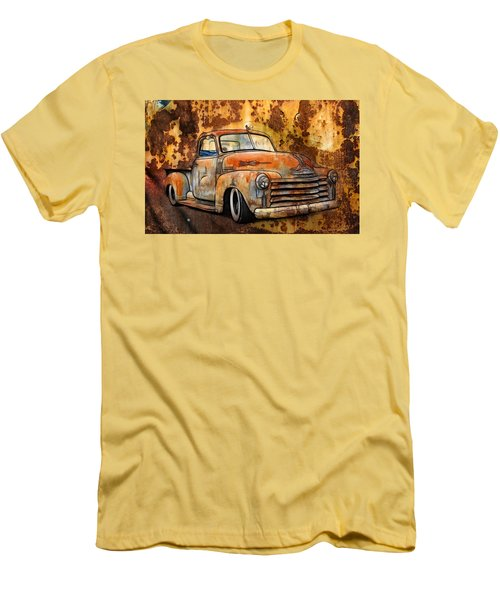 Old Chevy Rust Men's T-Shirt (Athletic Fit)
