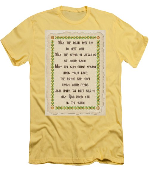 Old Irish Blessing Men's T-Shirt (Athletic Fit)