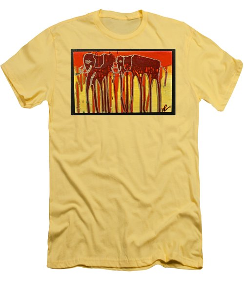 Oliphaunts Men's T-Shirt (Slim Fit) by Mario Perron
