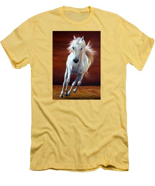 On Fire Men's T-Shirt (Slim Fit) by Vivien Rhyan