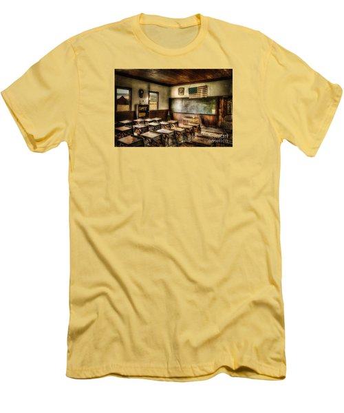 One Room School Men's T-Shirt (Slim Fit) by Lois Bryan