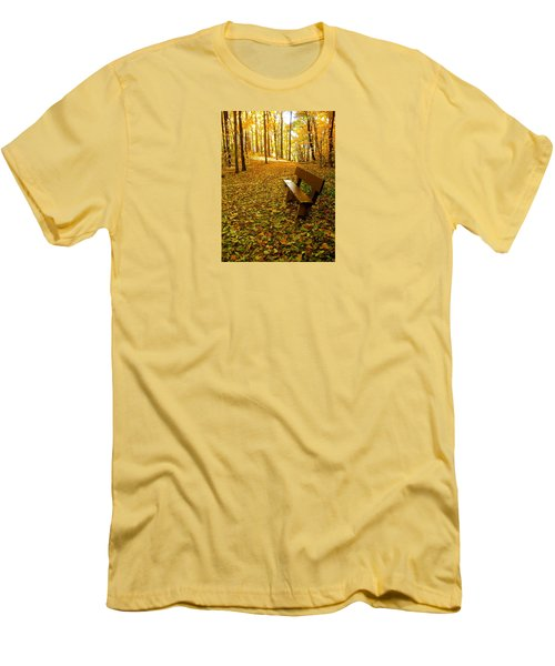 Men's T-Shirt (Slim Fit) featuring the photograph Only Lovers Are Missing by Zafer Gurel