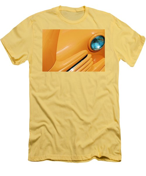 Orange Car Men's T-Shirt (Slim Fit) by Daniel Thompson