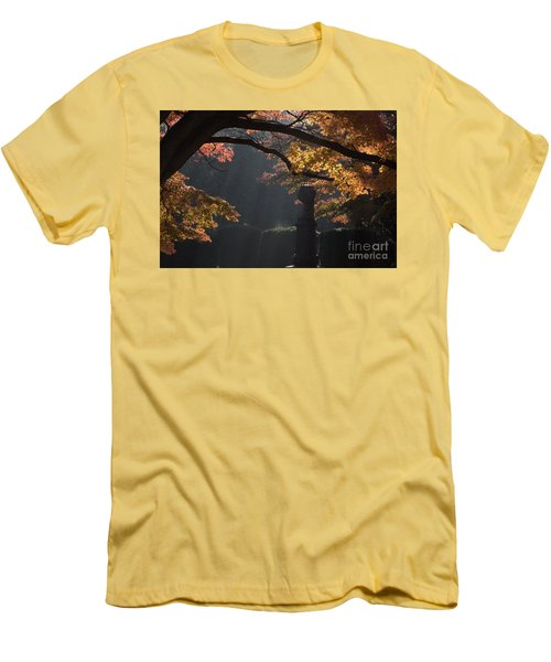 Men's T-Shirt (Slim Fit) featuring the photograph Orangish by Steven Macanka