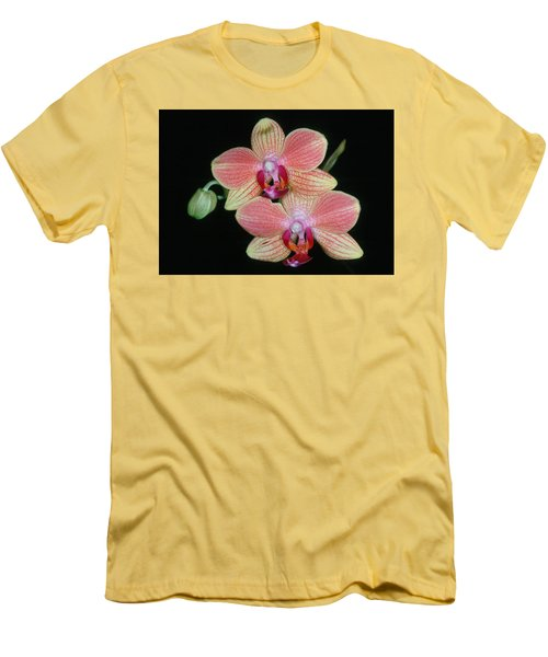 Orchid 4 Men's T-Shirt (Slim Fit) by Andy Shomock