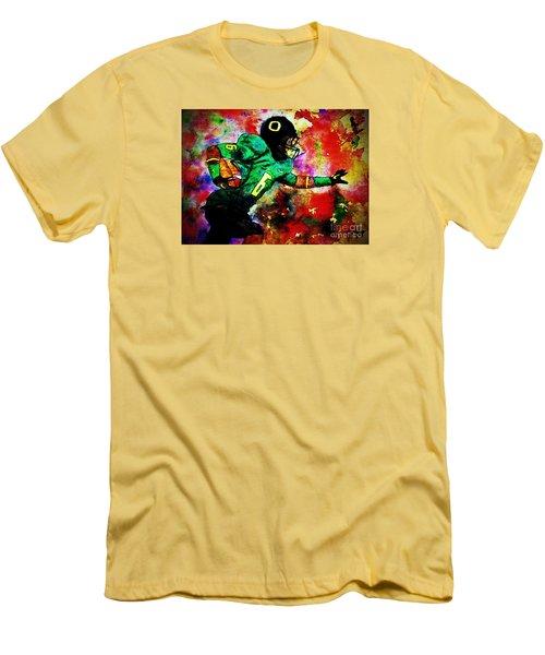 Oregon Football 3 Men's T-Shirt (Athletic Fit)
