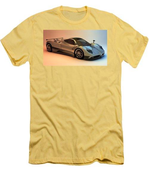 Pagani Zonda F Men's T-Shirt (Athletic Fit)