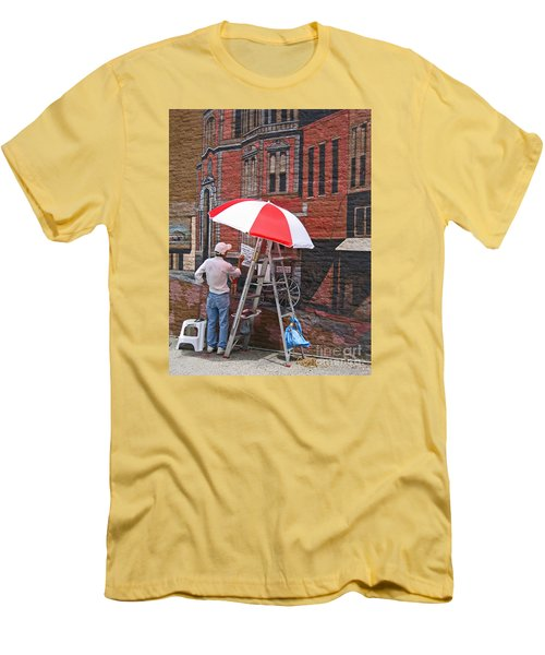 Painting The Past Men's T-Shirt (Athletic Fit)