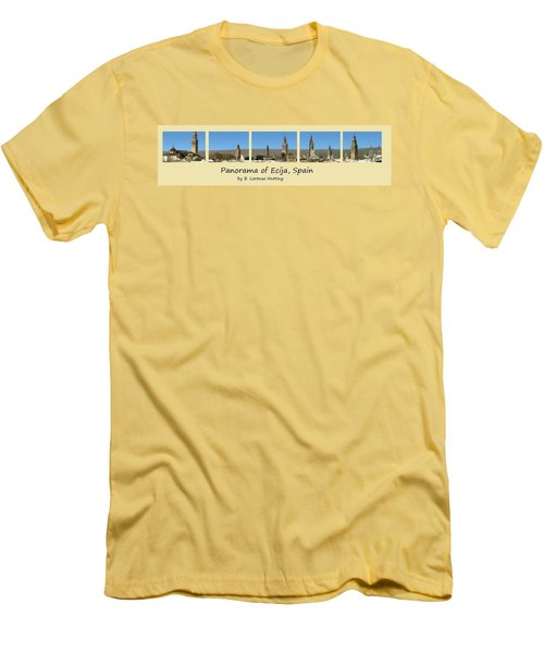 Panorama Of Ecija Spain Men's T-Shirt (Athletic Fit)