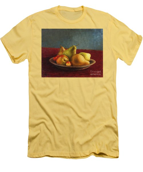 Pears And Cherries Men's T-Shirt (Athletic Fit)