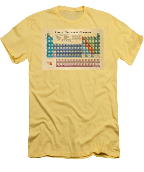 Periodic Table Of The Elements Men's T-Shirt (Athletic Fit)
