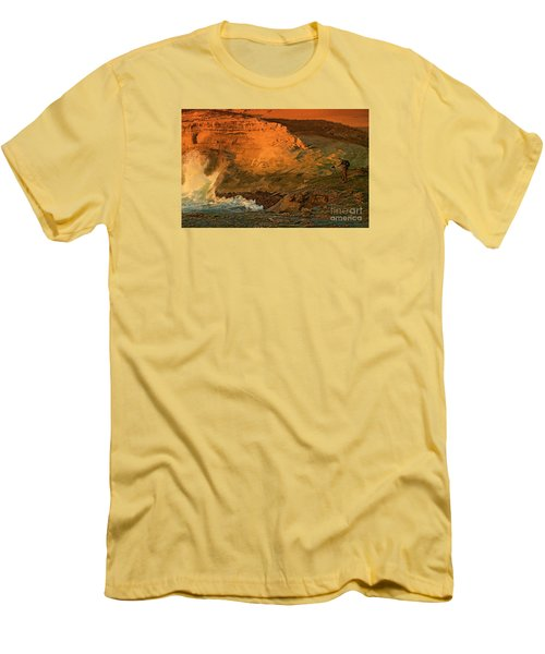 Men's T-Shirt (Slim Fit) featuring the photograph Photographers Paradise by Nick  Boren