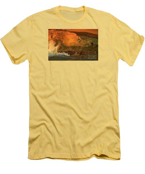 Photographers Paradise Men's T-Shirt (Slim Fit) by Nick  Boren
