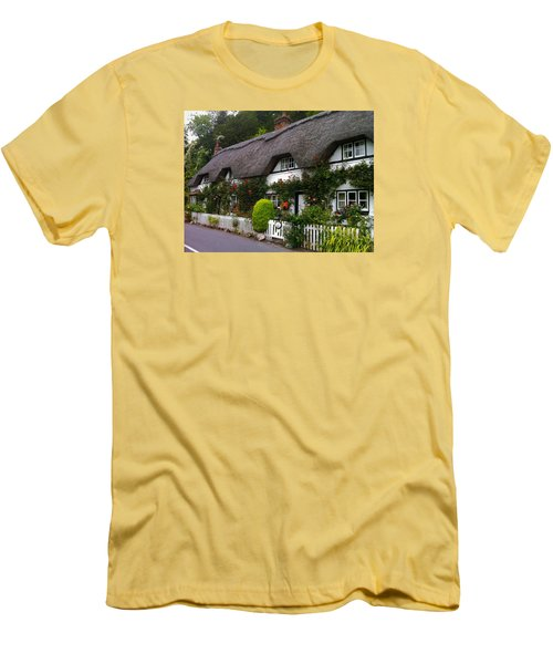 Picturesque Cottage Men's T-Shirt (Athletic Fit)