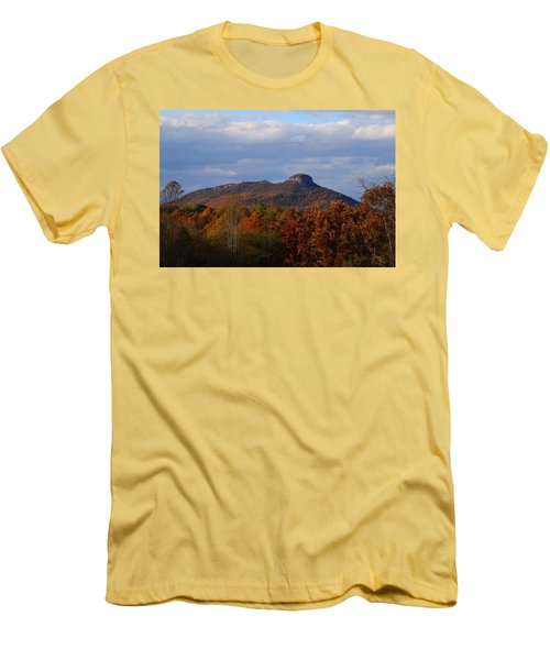 Pilot From Perch Road Men's T-Shirt (Slim Fit) by Kathryn Meyer