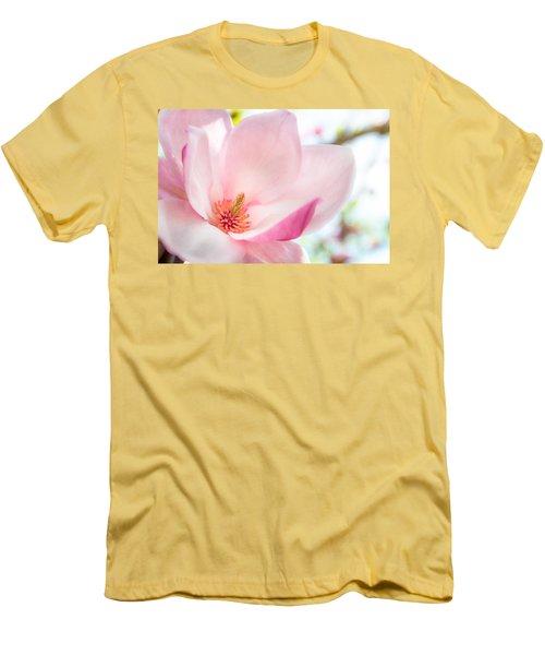 Pink Magnolia Men's T-Shirt (Athletic Fit)