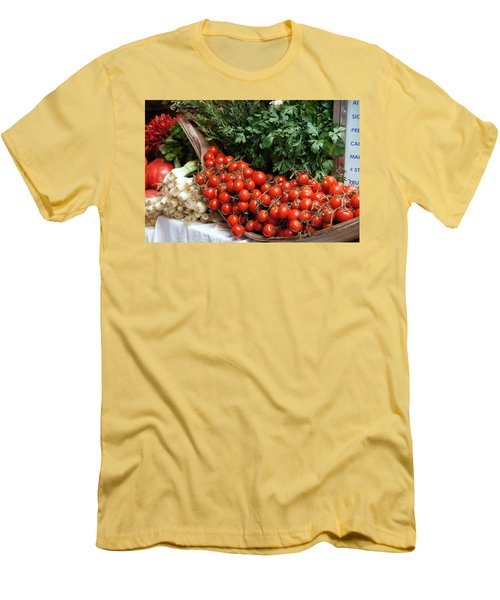 Plentiful Red Men's T-Shirt (Athletic Fit)