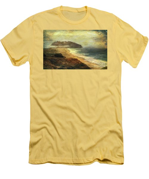 Point Sur Lighthouse Men's T-Shirt (Athletic Fit)