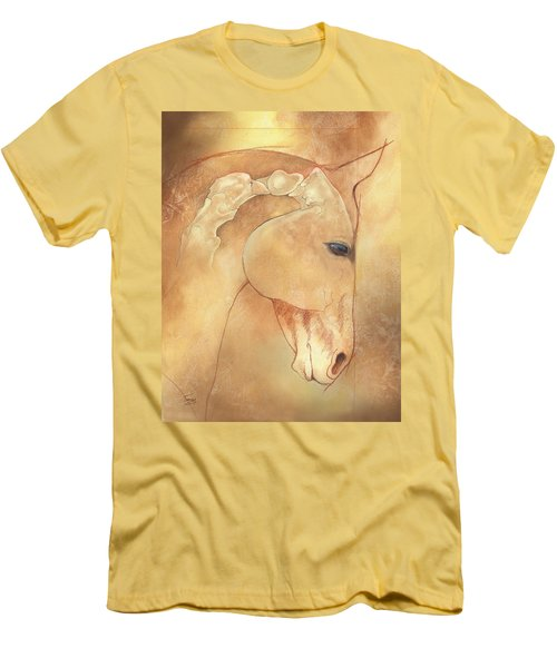 Poll Meet Atlas Axis Men's T-Shirt (Slim Fit) by Catherine Twomey