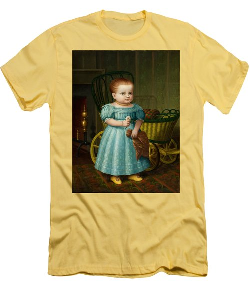 Portrait Of Sally Puffer Sanderson Men's T-Shirt (Athletic Fit)