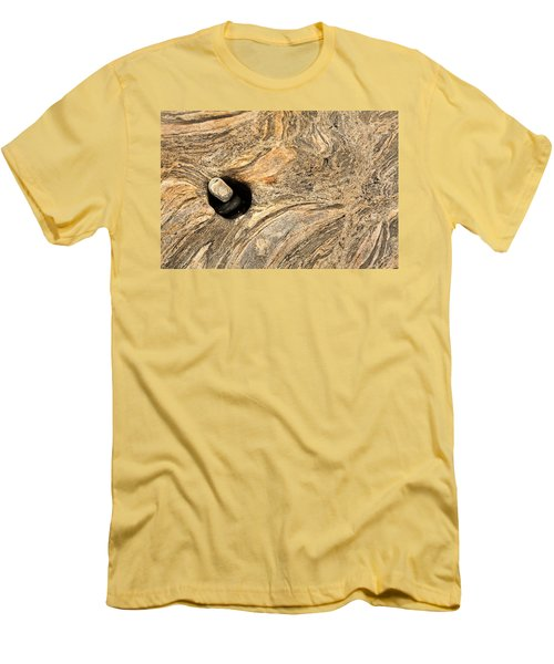 Pothole And Stone Pemaquid Point Maine Men's T-Shirt (Athletic Fit)