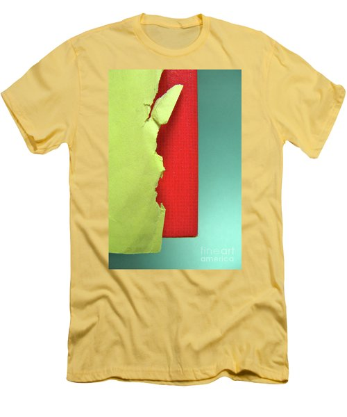Men's T-Shirt (Slim Fit) featuring the photograph Primary by CML Brown