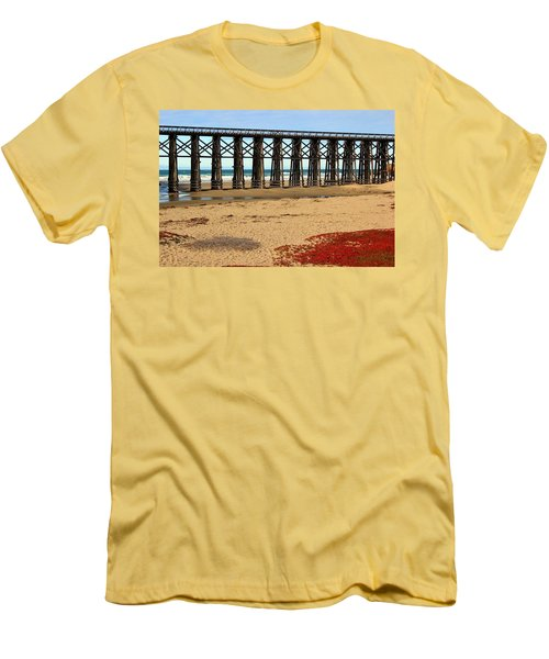 Pudding Creek Bridge Men's T-Shirt (Athletic Fit)