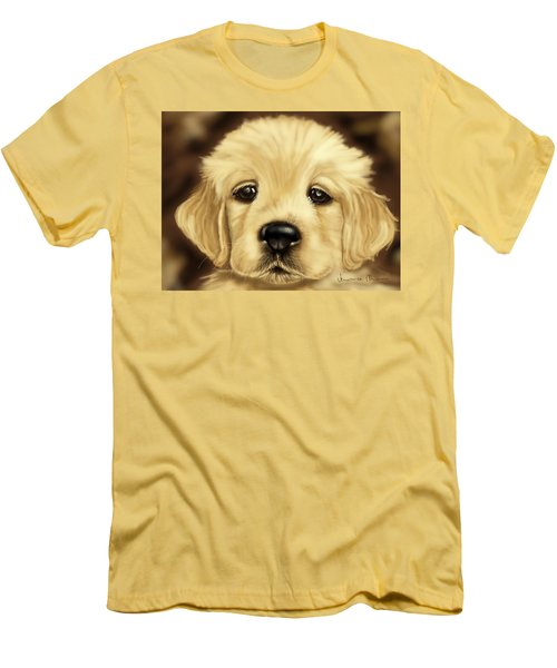 Puppy Men's T-Shirt (Slim Fit) by Veronica Minozzi