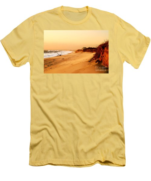 Quiet Summer Sunset Men's T-Shirt (Athletic Fit)